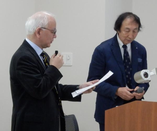 愛知医科大学・分子標的医薬寄附講座 梅澤一夫教授にご講演いただきました。(2017.12.21)