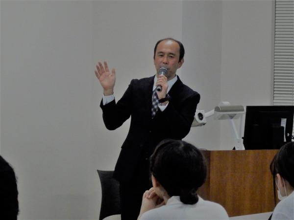 鹿児島大学・消化器外科 前村公成教授に「膵臓疾患の最新治療」に関する講義をしていただきました。2018.12.10