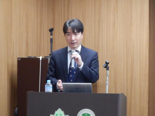 保健科学セミナー:琉球大学医学部 再生医学講座の野口洋文教授に講演していただきました。2019.11.18