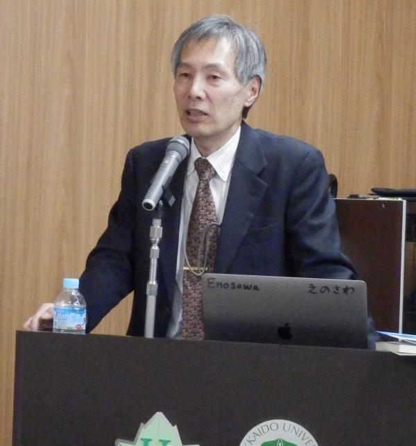 国立成育医療センター研究所の絵野沢伸先生に、保健科学セミナーで講演していただきました(2020-1-31)。