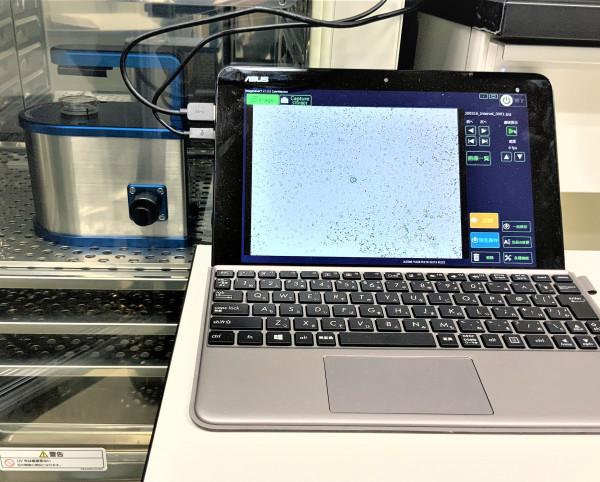 培養細胞タイムラプス観察装置「 WSL-1800 CytoWatcher(ATTO社製)」を、新たに設置しました(中央研究施設)。